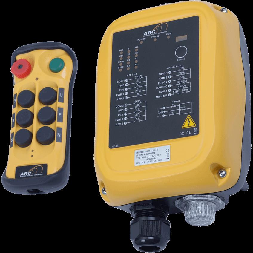 Rádiové dálkové ovládání Flex ECO 6