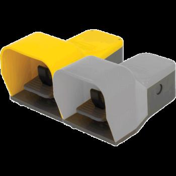 Omicron double žluto-šedý