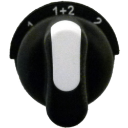 PRSL1864BIC otočný přepínač 1-1+2-2