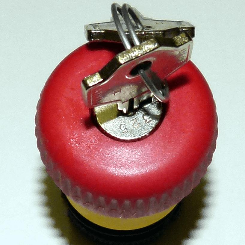 tlačítko STOP s klíčem PRSL1890PI