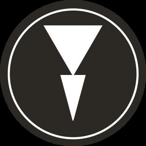 Symbol prachotěsného tlačítka NPA-S, NPA-CP