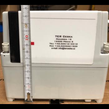 plastová rozvodnice 210×160×140 mm s DIN lištou a kabelovou průchodkou