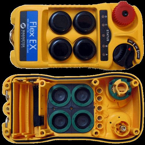 Vrchní kryt vysílače Flex EX 4