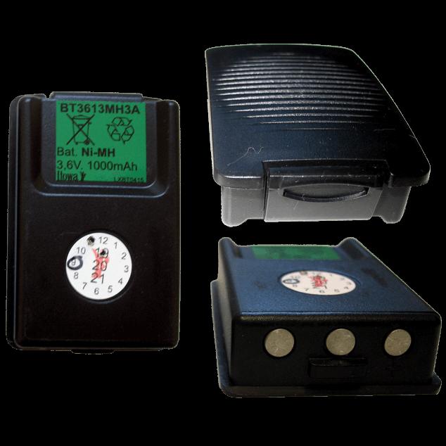 baterie vysílače Tau-6 starý typ